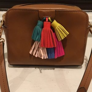 Rebecca Minkoff Mini Leather Crossbody Tassels